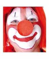 X stuks carnaval neus neuzen rood 10124149